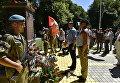 Празднование Дня ВДВ в Симферополе