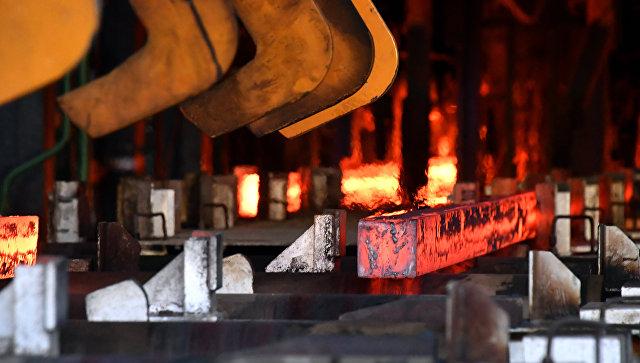 Металлургический завод в городе Хама в Сирии