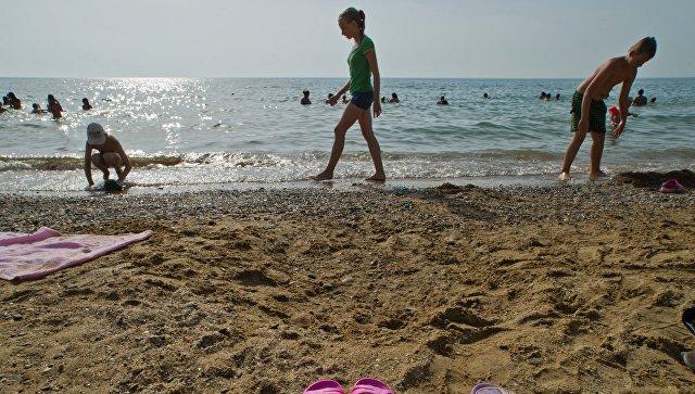 Детский оздоровительный лагерь в Крыму. Архивное фото