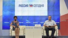 Пресс-конференция заместителя министра здравоохранения Республики Крым Николая Деркача