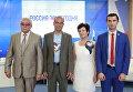 Пресс-конференция, посвященная автопробегу Берлин - Москва