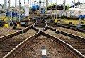 Сортировочная станция Дальневосточной железной дороги в Хабаровске