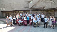 Встреча участников автопробега Берлин – Москва в Севастополе