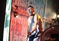 Лидер группы Ленинград Сергей Шнуров на концерте в рамках музыкального фестиваля ZBFest в Балаклаве (Севастополь)