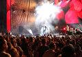 Дима Билан на концерте в рамках музыкального фестиваля ZBFest в Балаклаве (Севастополь)
