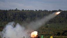 Реактивная система залпового огня БМ-21 Град