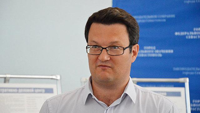 И. о. ректора КФУ им. Вернадского Андрей Фалалеев