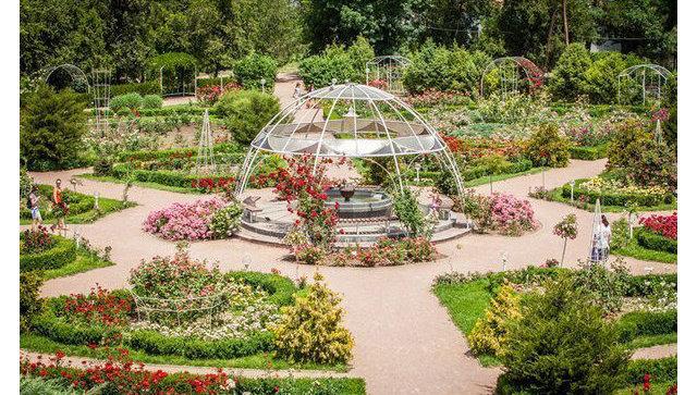 Ботанический сад КФУ им. В.И. Вернадского