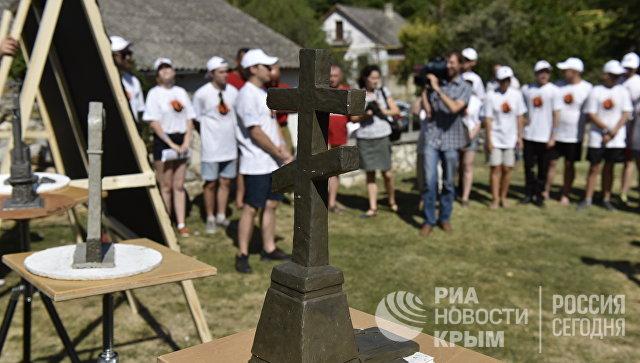 Участники гражданско-патриотического проекта Севастополь - Орел: наш общий рубеж
