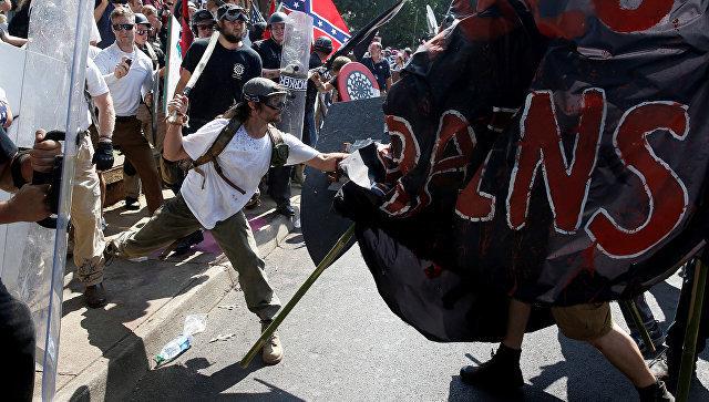 Акции протеста в Шарлоттсвилле (штат Вирджиния)