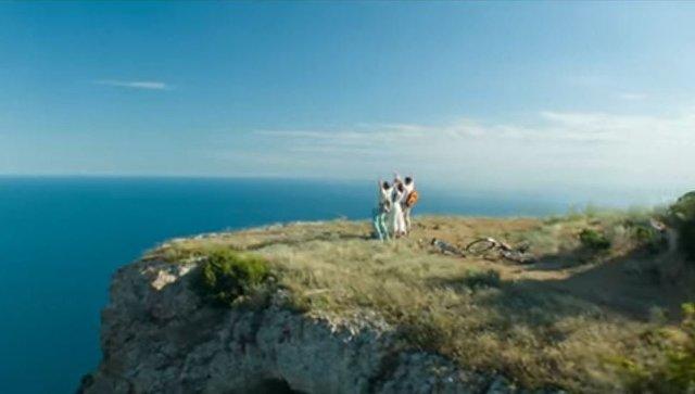 Кадр из клипа Самба Леонида Агутина