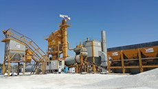 Асфальто-бетонный завод для строительства объездной дороги Дубки-Левадки