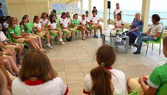 Министр образования и науки РФ Ольга Васильева посетила МДЦ Артек