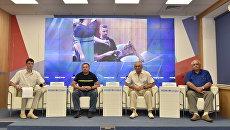 Пресс-конференция Перспективы развития космической отрасли в Крыму