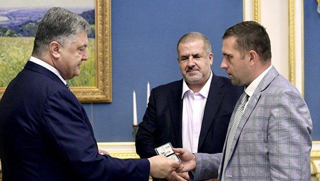 Назначение Бориса Бабина постоянным представителем президента Украины в автономной республике Крым. 18 августа 2017