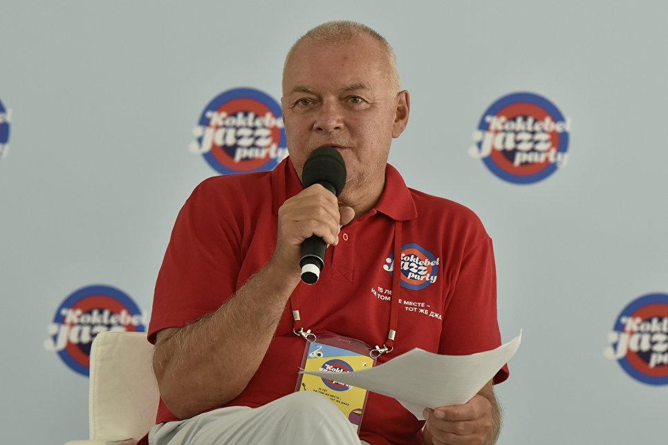 Председатель оргкомитета Международного фестиваля Koktebel Jazz Party, генеральный директор МИА Россия сегодня Дмитрий Киселев