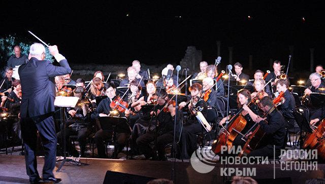 Оперный концерт в Херсонесе. Архивное фото