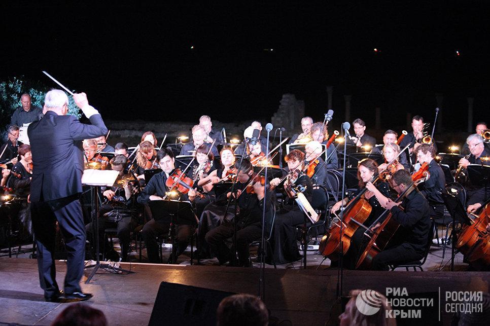 Международный музыкальный фестиваль Опера в Херсонесе в Севастополе