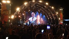 Президент РФ Владимир Путин посетил фестиваль Koktebel Jazz Party 2017. 20 августа 2017