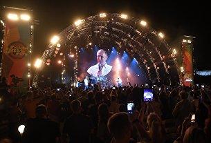 Президент РФ Владимир Путин посетил фестиваль Koktebel Jazz Party 2017. 20 августа 2017