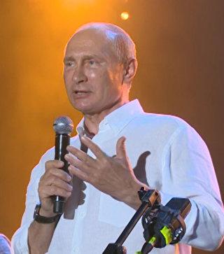Путин со сцены Koktebel Jazz Party обратился к участникам и гостям фестиваля