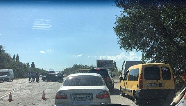 ДТП на трассе Джанкой - Симферополь