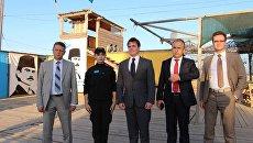 Представители Международного республиканского института (IRI) США посетили добровольческий батальон Аскер в Херсонской области на границе с Крымом