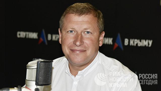 Генеральный директор аэропорта Симферополь Евгений Плаксин