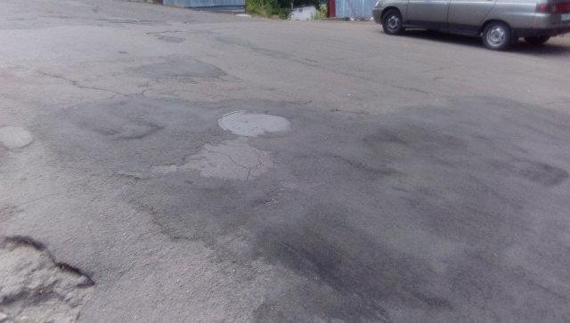 Дорога, отремонтированная после нанесения на Карту убитых дорог