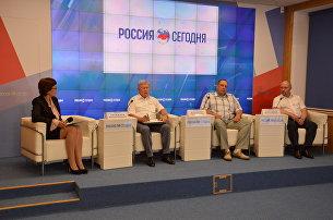 Пресс-конференция на тему: Использование результатов космической деятельности в экономике Крыма