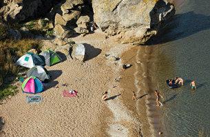Дикие пляжи Крыма