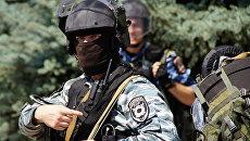Полиция в Луганске