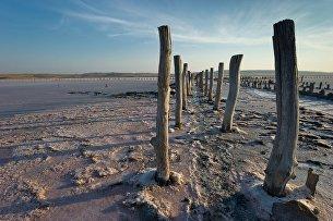 Чокракское озеро в Крыму