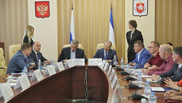 Подписание соглашения о сотрудничестве между Советом министров Крыма и Центром общественных процедур Бизнес против коррупции