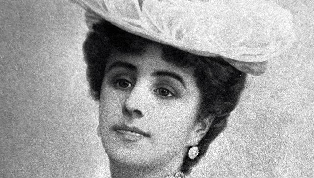 Балерина Матильда Кшесинская. 1900 год