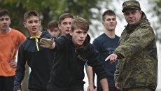Военно-спортивная игра