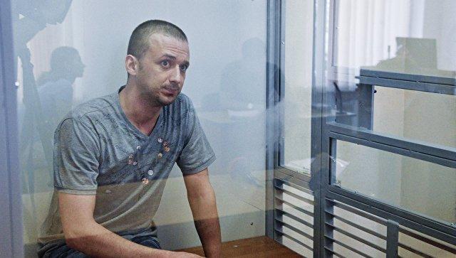 Заседание по делу похищенного СБУ российского военнослужащего М. Одинцова в Киеве