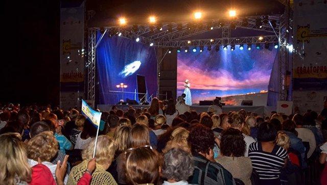 В Евпатории стартовал фестиваль детского кино Солнечный остров
