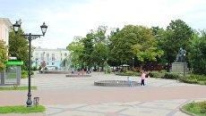 Сквер имени К. Тренева в Симферополе