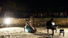 Концерт Классика в античном театре на территории музея-заповедника Херсонес Таврический (Севастополь)