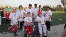 Участники Всероссийского физкультурно-спортивного фестиваля инвалидов Пара-Крым-2017 из Челябинска