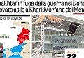 Итальянская газета Gazetta dello Sport указала крымский полуостров как территорию Российской Федерации