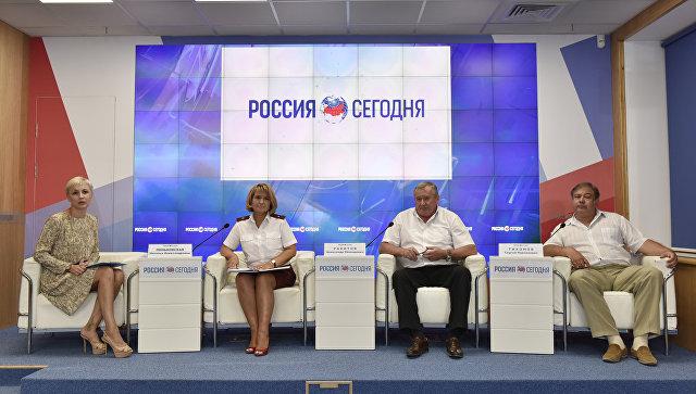 Пресс-конференция к 95-летию со дня образования Государственной санитарно-эпидемиологической службы России