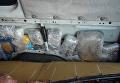 Продукты, которые гражданин Украины пытался провезти в обшивке автомобиля через границу с Крымом