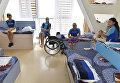 Комната, в которой живут дети с ограниченными физическими возможностями на смене в МДЦ Артек