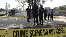 Полиция в Пакистане. Архивное фото