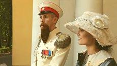 Скриншот с альтернативного трейлера актера Алексея Панина к картине Алексея Учителя Матильда
