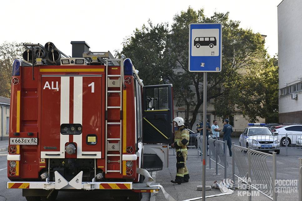 ВСимферополе эвакуировали людей изгорсовета иряда торговых центров