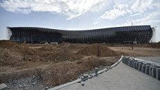 Строительство нового терминала международного аэропорта Симферополь