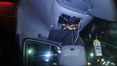 Тайник, оборудованный в авто марки Mercedes-benz, в котором украинец пытался провезти косметику через крымскую границу
